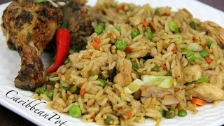Jerk Chicken Fried Rice.