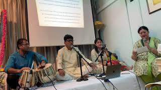 Sri Aravind by members of Sri Aurobindo Society, Singapore