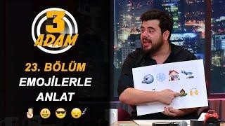 İbrahim ve Berkay, Oğuzhan, Bestemsu Özdemir ve Hande Soral'a Karşı | 3 Adam thumbnail