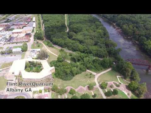 Ke4she Flying at the Flint RiverQuarium, Albany GA