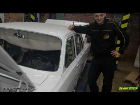 Волга C доводчиками дверей в Black & White Team