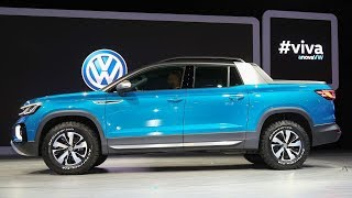 Volkswagen Tarok - nova picape média concorrente da Fiat Toro - www.car.blog.br