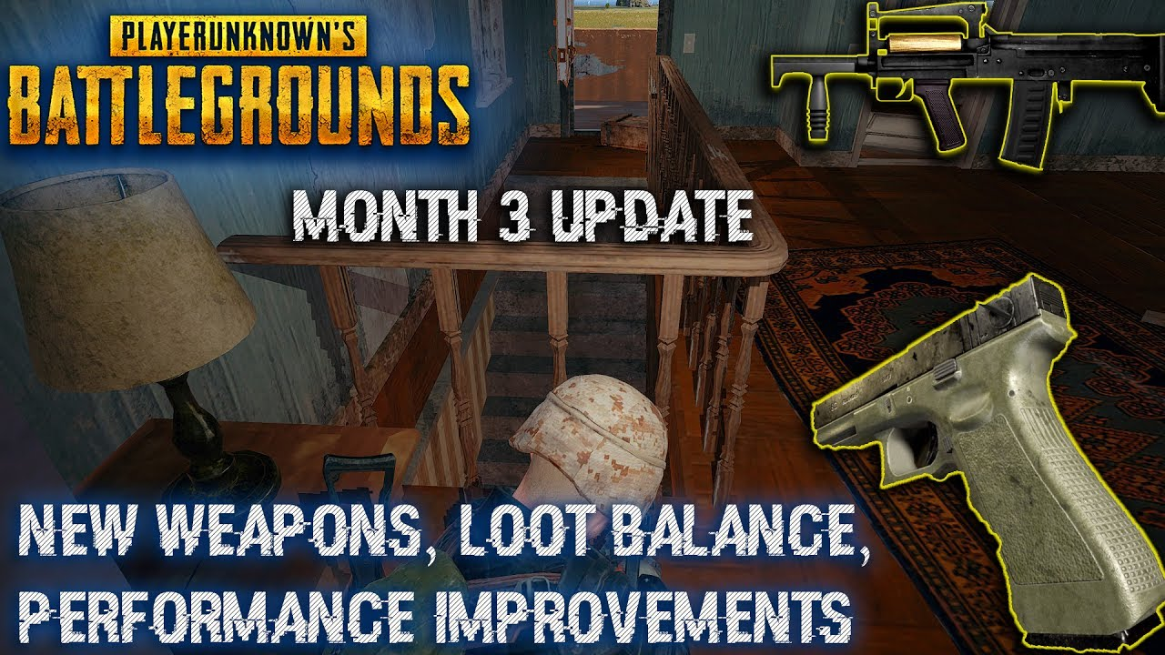 Playerunknown S Battlegrounds Weapons: New Weapons, Loot Balance, Performance