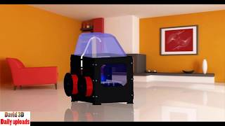 261. 3D printer MakerBot Replicator 2X || Free download 3D model