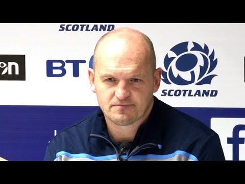 Scotland v South Africa - Gregor Townsend, Greig Laidlaw & Huw Jones Post Match Press Conference