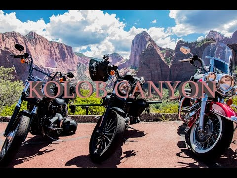 Majestic Utah MotoVlog RoadTrip pt.6 - Kolob Canyon - Butler Maps