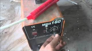 Remote control of the welding current. Дистанционный регулятор сварочного тока.