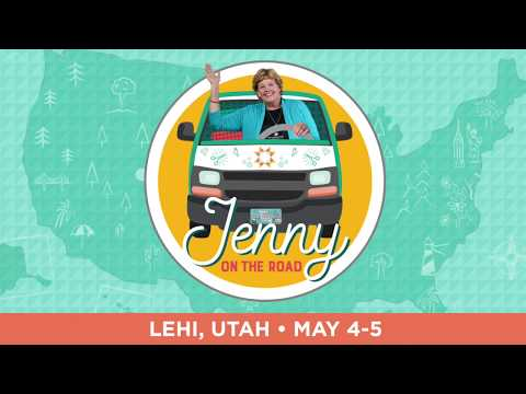Jenny is Hitting the Road - First Stop, Lehi, Utah!