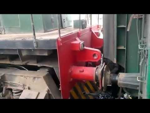 AGE-30 6012 coupling with 41 UP karakrum Express