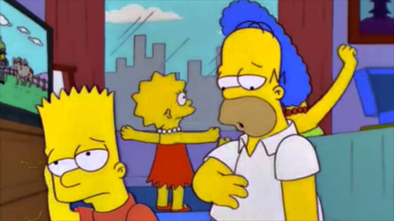 The Simpsons - Japanese cartoon that causes seizures - YouTube