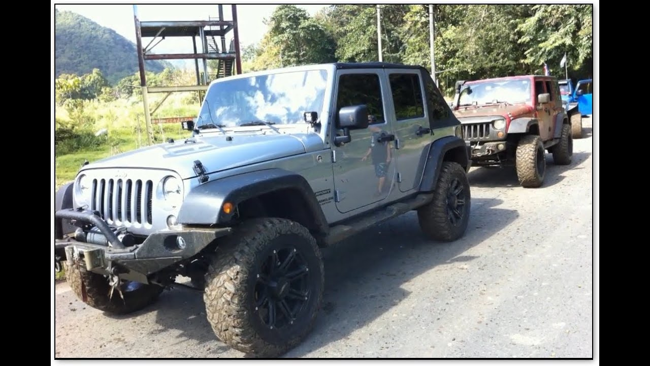 puerto rico jeep adventure mud holes rivers and. Black Bedroom Furniture Sets. Home Design Ideas
