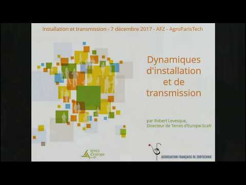 Dynamiques d'installation et de transmission