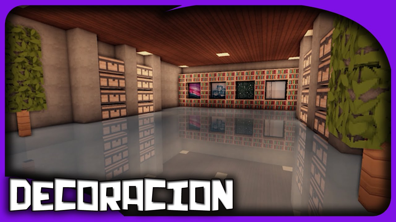 Como decorar una casa en minecraft efecto espejo for Como decorar tu casa