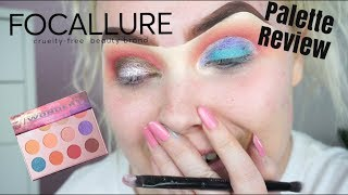 FOCALLURE PALETTE REVIEW & TUTORIAL