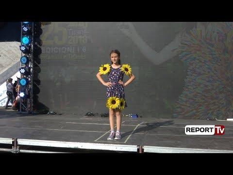 Report Tv - Fustane që ruajnë mjedisin, sfilata unike e Eco Fashion Show