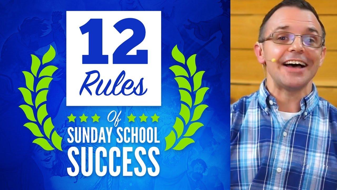 Sunday School Lessons: 12 Rules of Sunday School Success   ShareFaith.com