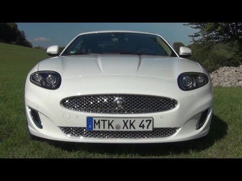 ' 2013 Jaguar XK 5.0 L V8 Convertible ' Test Drive & Review - TheGetawayer