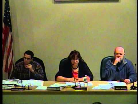 Town of Hyde Park, NY Planning Board Meeting  January 15, 2014