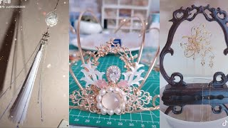 Detailed instructions on how to make Chinese ancient costume cosplay brooch