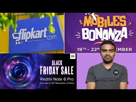 Xiaomi Black Friday Sale, Flipkart Mobile Bonanza Sale, Redmi Note 5 Pro Price Cut, Tech Prime #208 - 동영상