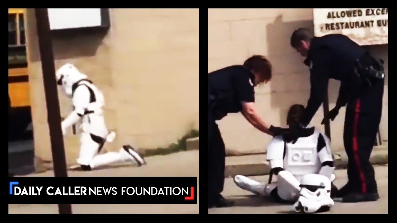 Canadian Police Arrest Girl Dressed As Storm Trooper
