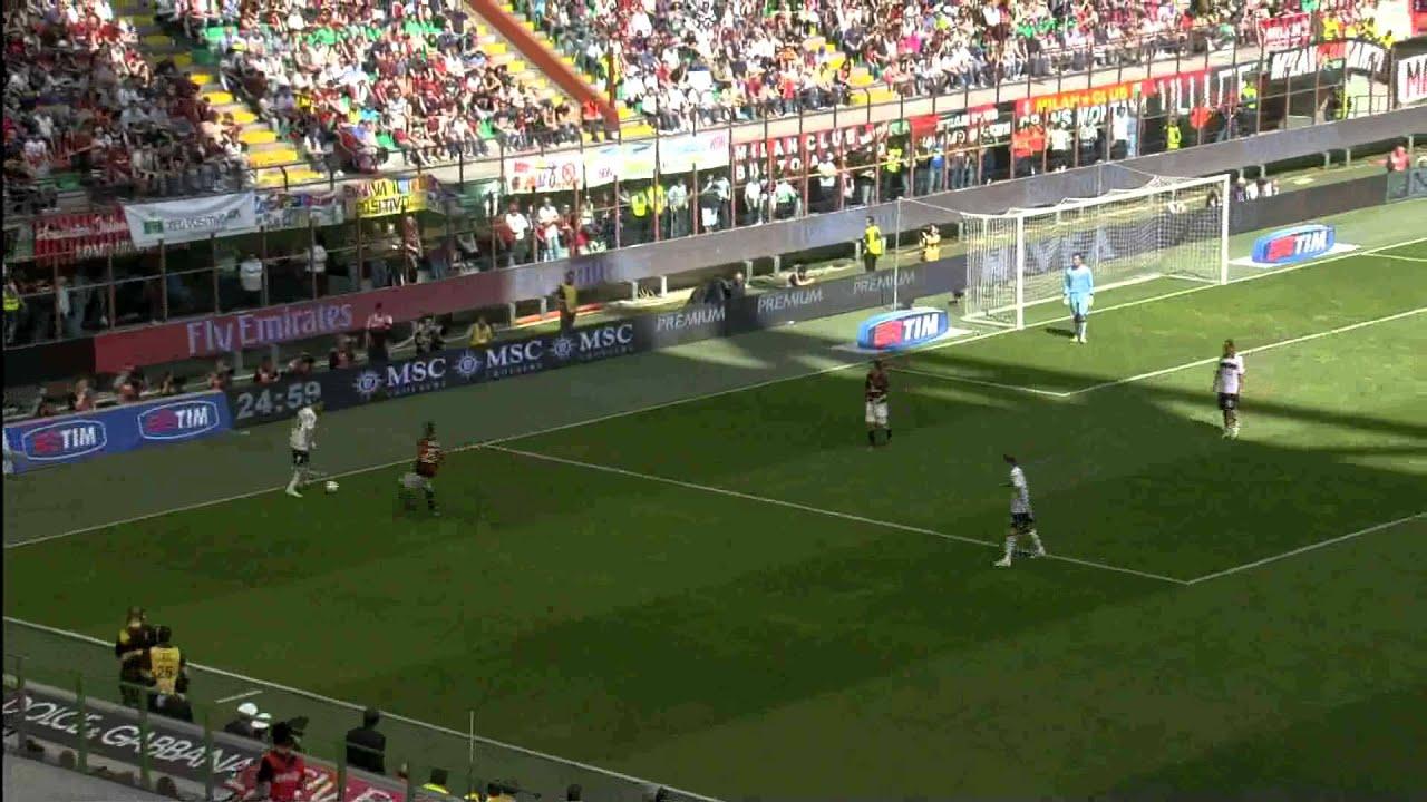 Milan-Bologna 1-0 - YouTube