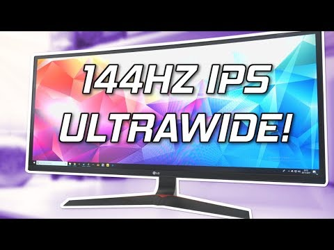 LG 34UC79G Review - 144Hz Ultrawide Gaming Monitor! - YouTube