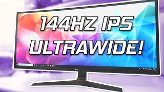 LG 34UC79G Review - 144Hz Ultrawide Gaming Monitor!