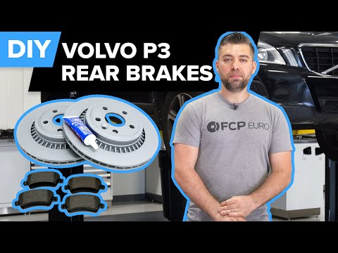 Volvo XC70 Rear Brake Rotor & Pad Replacement DIY (Volvo P3 – S80, V70, XC70, XC60, S60, & V60)