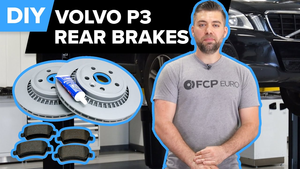 Volvo XC70 Rear Brake Rotor & Pad Replacement DIY (Volvo P3 - S80, V70, XC70, XC60, S60, & V60)