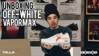 UNBOXED: 2018 Off-White x Nike Vapormax Review Ep.17