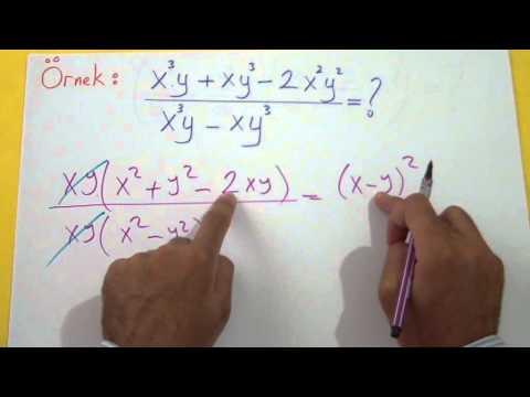 Çarpanlara Ayırma 3 Şenol Hoca Matematik