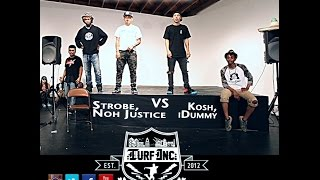 TURFinc 12 | Kosh & iDummy vs Strobe & NohJustice | 2nd Annual Anniversary Dance Battle Jam