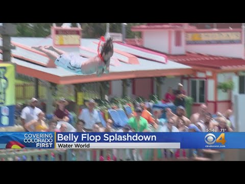 BEARDO - Coloradans Compete In Belly Flop Contest For Cash