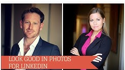 How to look good in photos for LinkedIN