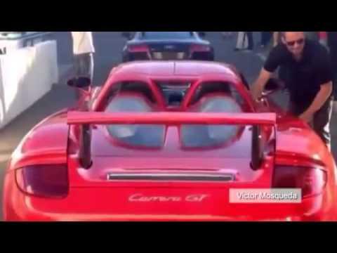 Paul Walker Killed In Porsche Carrera Gt Crash Paul Walker