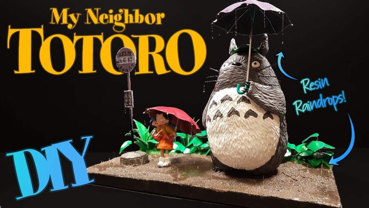 My Neighbor Totoro BUS STOP Diorama // DIY Studio Ghibli Crafts