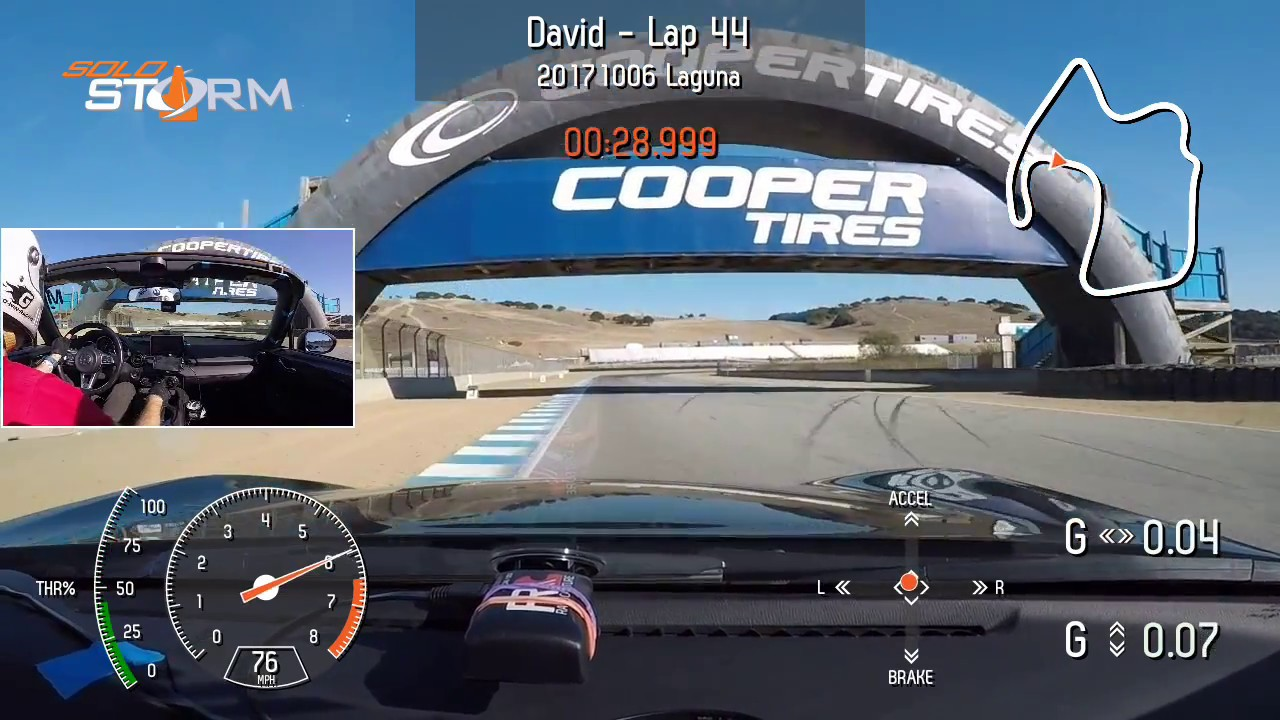 My Fastest Lap At Miatas At Mazda Raceway Laguna Seca