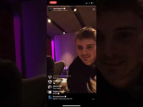 Martin Garrix Ft. Julian Jordan - Glitch [Live Instagram 27/11/18]