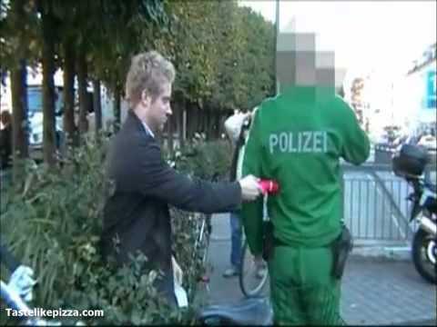 policía vibrador