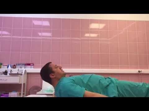 Простое упражнение для шейного отдела позвоночника   врач-невролог Роман Гудель   Москва