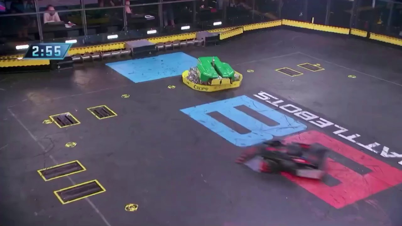 Download Battlebots Season 5 Episode 4: CHOMP VS GAMMA 9
