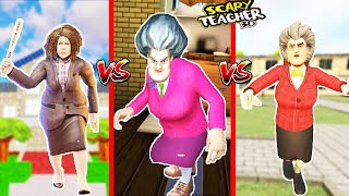 EN KÖTÜ SCARY TEACHER KAPIŞMASI 😱  Scary Teacher 3D Challenge