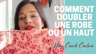 ACCEDER A LA FORMATION A MOITIE PRIX https://www.moncoachcouture.fr/comment-doubler-une-robe/ ✅ Abonne-toi ! ➜ https://tinyurl.com/y226lkac ...