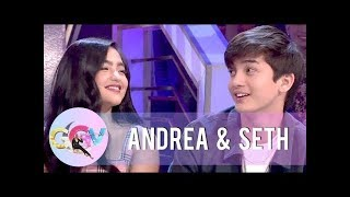 Seth admits that he has a crush on Andrea Brillantes | GGV