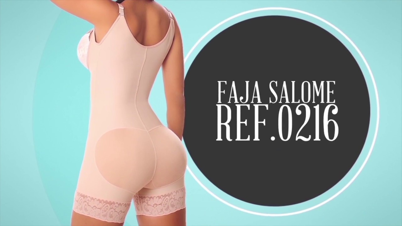 945dbc0fd82d8 Fajas Salome 0216 Women s Body Shaper Levanta Cola - YouTube