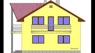 Casa. P+M - Fundatie si Elevatie