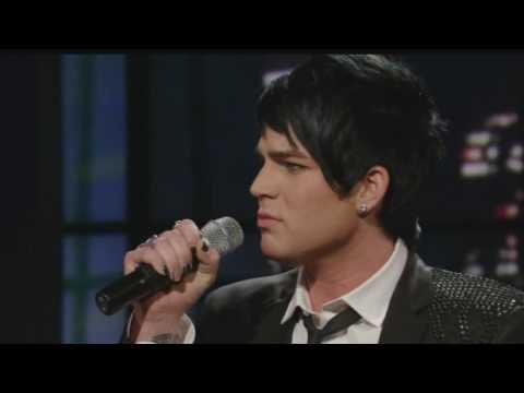 Adam Lambert - Mad World Live At Regis & Kelly Show[HD]