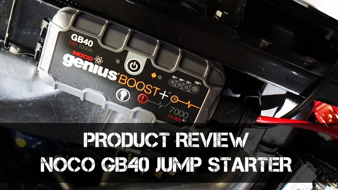Noco Gb40 Jump Starter Can It Start A Big V8 Product Review Fuse Box Cadillac Sts 2005