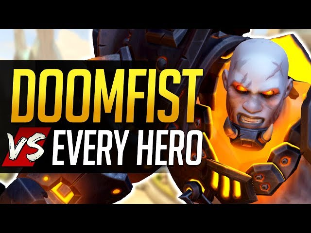 Overwatch DOOMFIST vs Every Hero - All Counters, Strengths, & Weaknesses